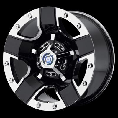 DS11 Gloss Black w/Chrome Tires